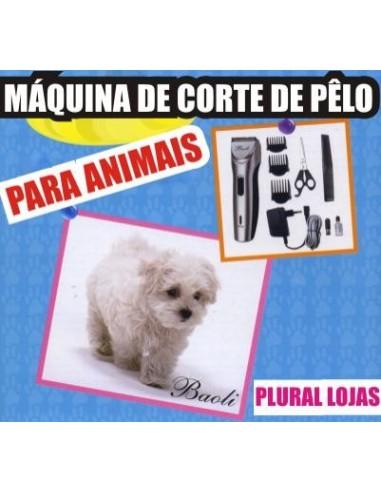 MAQUINA CORTAR PÊLO ANIMAIS RECARREGAVÉL