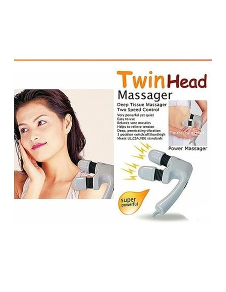 MASSAGADOR 2 CABEÇAS TWIN HEAD MASSAGER