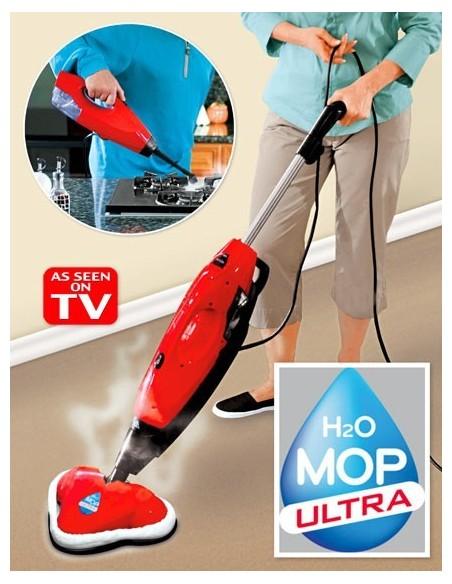 H2O MOP ULTRA VASSOURA E VAPORETA A VAPOR