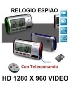 RELOGIO SECRETARIA ESPIAO HD 4 GB CAMERA OCULTA