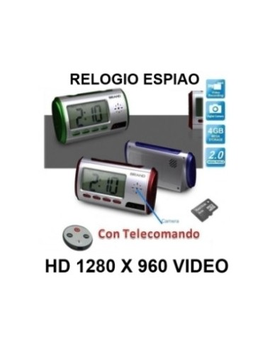 RELOGIO SECRETARIA ESPIAO HD 4 GB CAMERA OCULTA