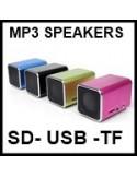 MICRO COLUNAS PORTATEIS MP3 , USB, MICRO SD