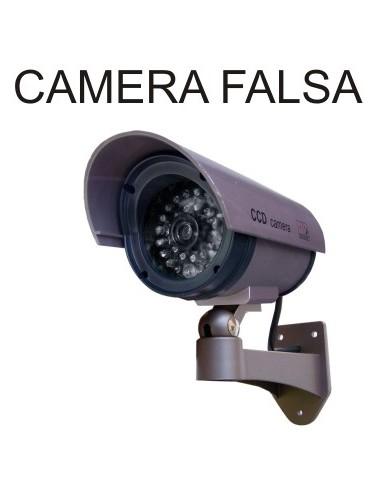 CAMERA VIGILANCIA FALSA COM LEDS REALISTA