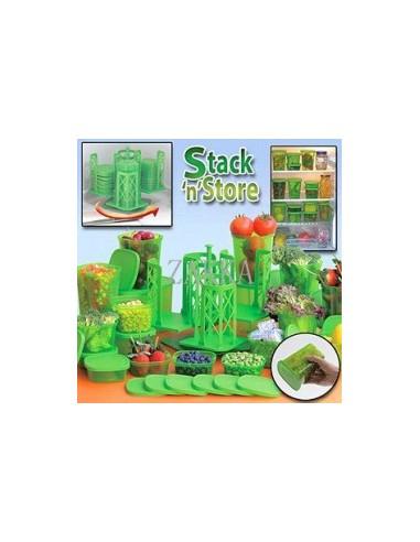 54 Peças Sistema Rotação e Arrumação Stack n´Store