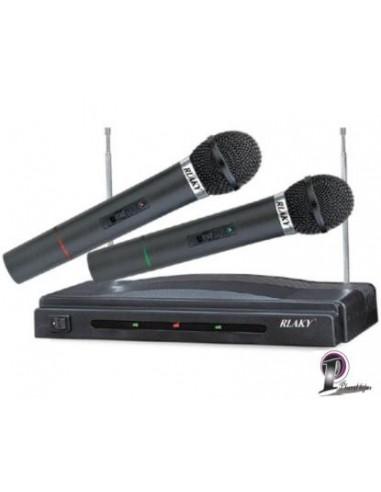 Microfone por Wireless