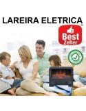 LAREIRA ELECTRICA RECTANGULAR EFEITO CHAMAS