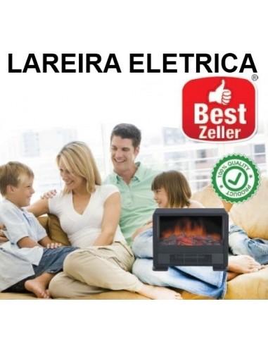 LAREIRA ELECTRICA RECTANGULAR 46.5 X 19.5 X 39 CM 0