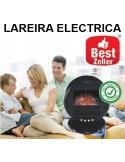 LAREIRA ELECTRICA REDONDA EFEITO CHAMAS