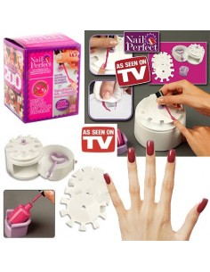 NAIL PERFECT SUPORTE DE MANICURE OFERTA 200 STICKERS