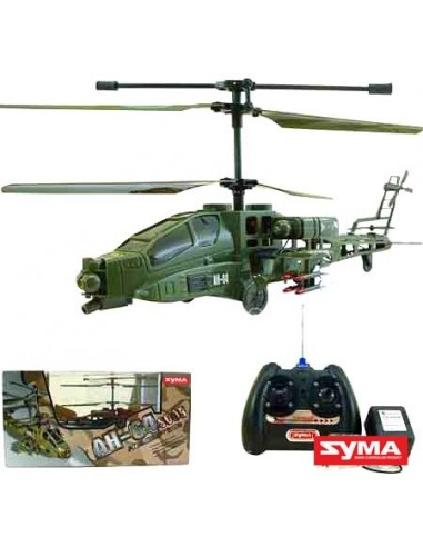 HELICOPTERO RC APACHE S009 360º GRAUS