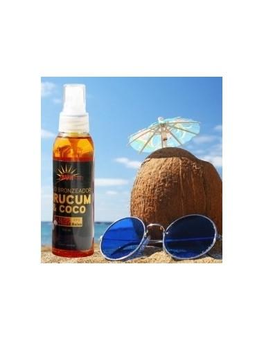 Oleo Bronzeador Urucum e côco 100 ml