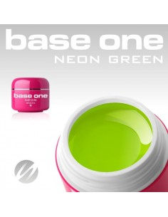 GEL UV DE CÔR NEON GREEN GEL UV CORES NEON