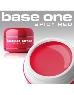 GEL UV DE CÔR SPICY RED