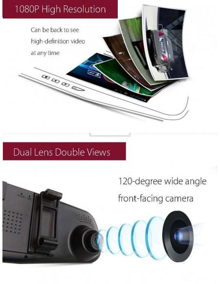 "Câmera Full HD 1080p DVR para Carro LCD 2.8"" Utilidades"