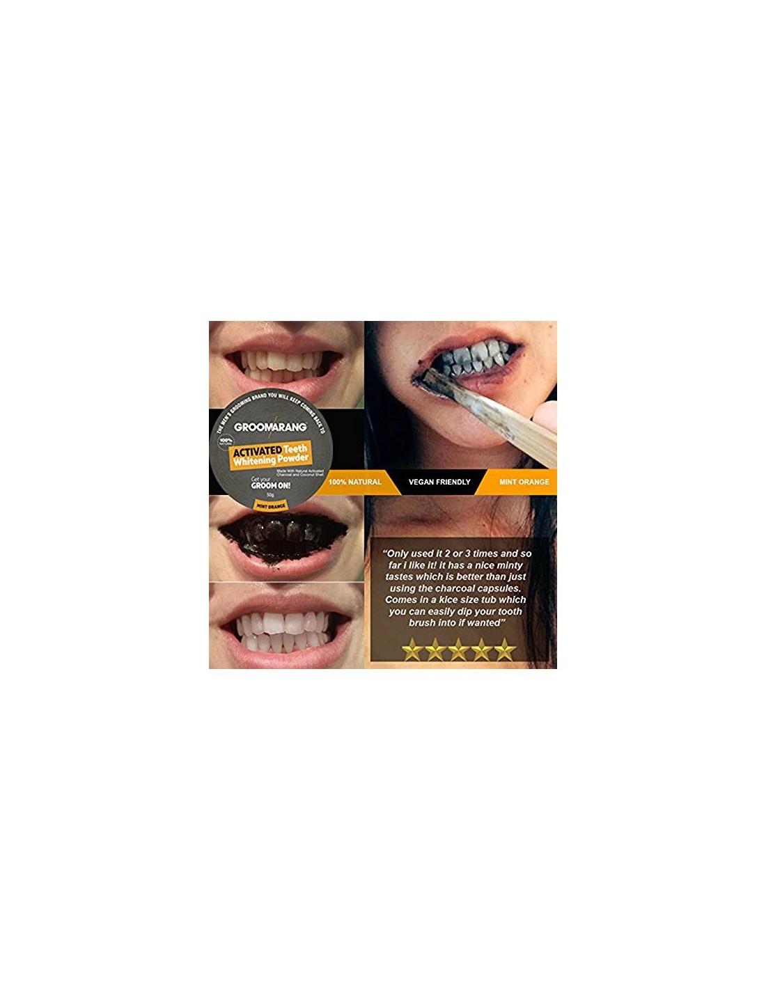 Branqueamento Dentes Carvao Ativado