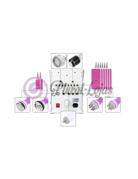 MULTIFUNÇÕES 9 EM 1 CAVITAÇÃO + RF + VACUO + LIPO + CRIO +LEDS MAQUINAS DE CAVITAÇÃO