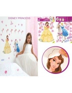 STICKERS QUARTO DISNEY PRINCESA