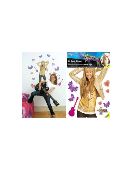 STICKERS DISNEY HANNAH MONTANA