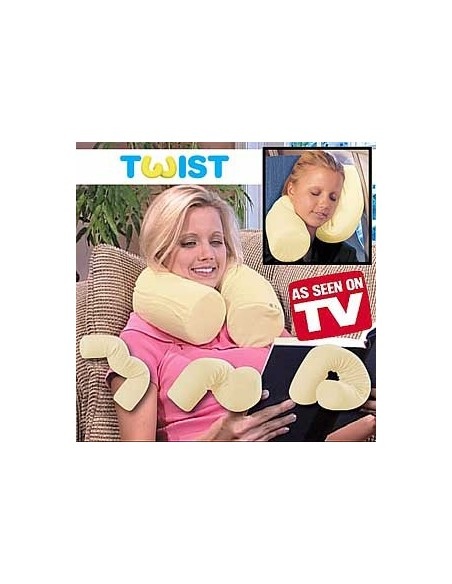 Travesseiro Flexivel Twist Pillow - Viagens