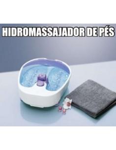 HIDROMASSAJADOR DE PÉS COM CALOR E BORBULHAS